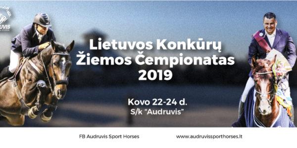 LIETUVOS KONKŪRŲ ŽIEMOS ČEMPIONATAS 2019