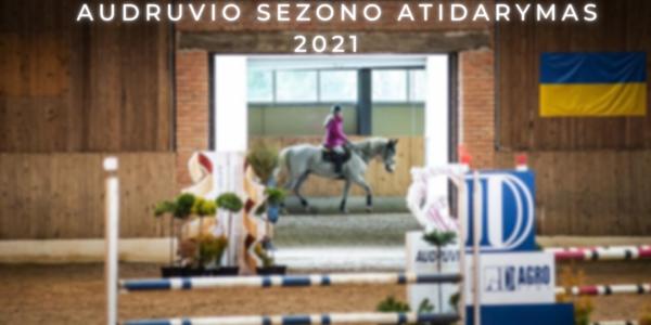 AUDRUVIO SEZONO ATIDARYMAS 2021